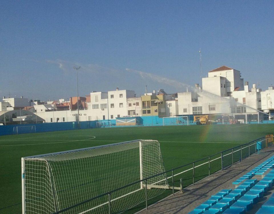 Campo de Fútbol del Atlético Algabeño (La Algaba, Sevilla)